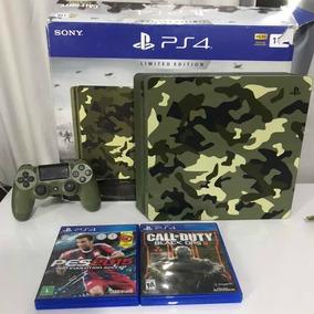 Playstation 4 Slim 1tb Edição Call Of Duty Ww2