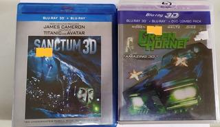 Blu Ray Oferta 3d Green Hornet Sanctum Marvel P Unitario