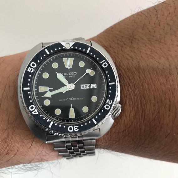Seiko 6309-7049 Tortuga Buceo. Diver Turtle De 1983.