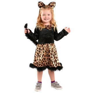 Bebé Gato Leopardo Vestido De Traje