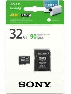 Cartão De Memória Sony 32 Gb 4k