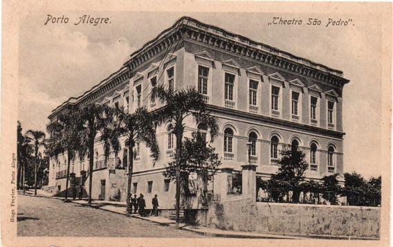Porto Alegre182- Theatro São Pedro1 Cartão Postal Antigo