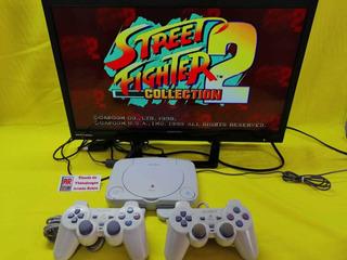 Consola Ps1 One Slim 2 Controles Garantía Meses Sin Interese