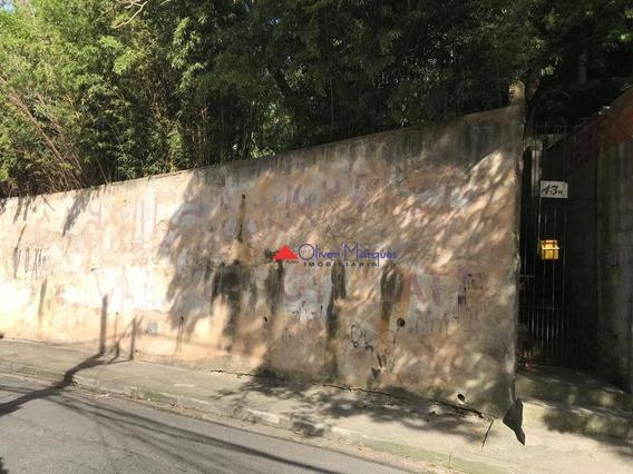 Terreno À Venda, 358 M² Por R$ 480.000,00 - Jaguaré - São Paulo/sp - Te0271