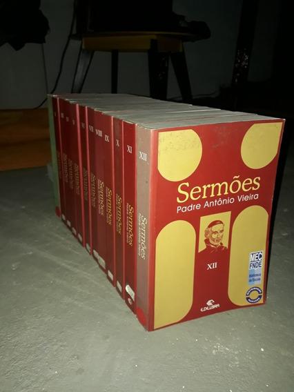 Sermões Padre Antonio Vieira 12 Volumes Completo
