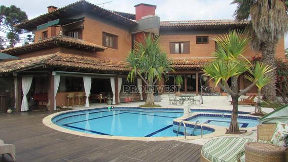 Casa Com 4 Dormitórios À Venda, 850 M² Por R$ 3.900.000 - Granja Viana - Carapicuíba/sp - Ca16472