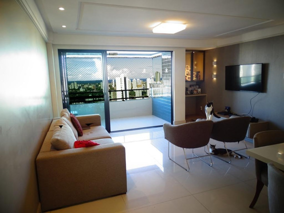 Apartamento Em Rosarinho, Recife/pe De 128m² 4 Quartos À Venda Por R$ 880.000,00 - Ap271667