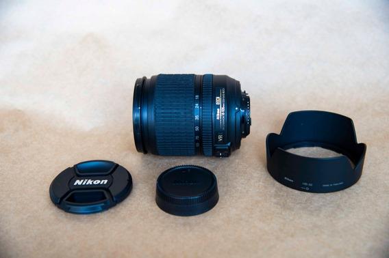 Lente Af-s Dx Nikkor 18-105mm F/3.5-5.6g Ed Vr