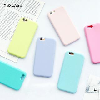 Funda Iphone 6 6 S 5 5s Sí 8 Plus X Macaroon Envio Gratis