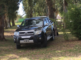 Toyota Hilux Srv 4x4 Cuero Automatica 165.000 Km Reales