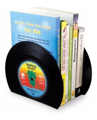 Sujeta Libros Cd Dvd Biblioteca Forma Discos Vinilo Vintage