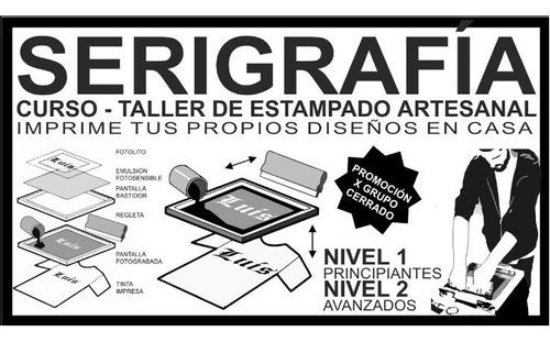 Curso Diseño Textil  Serigrafia Basico