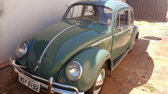 Volkswagen Fusca 1959 Segunda Série - Fusca Alemão