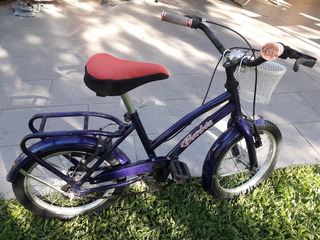 Bicicleta Unisex Rodado 14. Paseo Impecable
