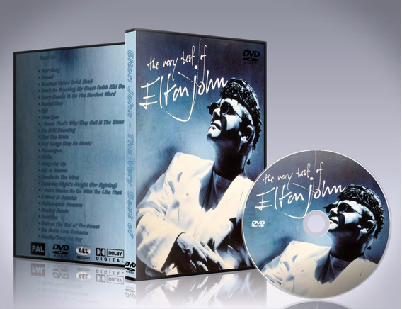 Dvd Elton John - The Very Best Of 1990