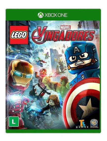 Lego Marvel Vingadores Xbox One Mídia Física Novo Lacrado