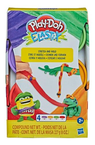 Imagen 1 de 2 de Play Doh Nueva Textura Masas Stretch 4 Latas - Hasbro Store