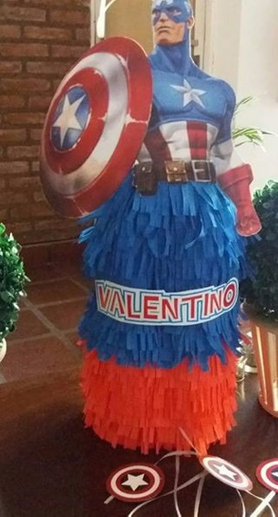Piñata Capitan America Avengers