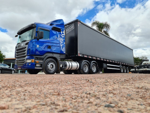 Caminhão Scania R440 6x2 + Carreta Sider Facchini 30pal 2021