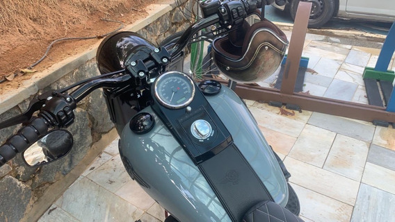 Harley Davidson Fat Boy Especial 2014 100% Customizada