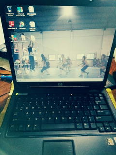Notebook Hp Nx6325 Amd 1,60ghz Mem 2gb Hdd 160gb Completa Ok