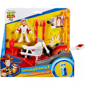 Fisher Price Imafinext Toy Story 4 Pista Duke Caboon Mattel