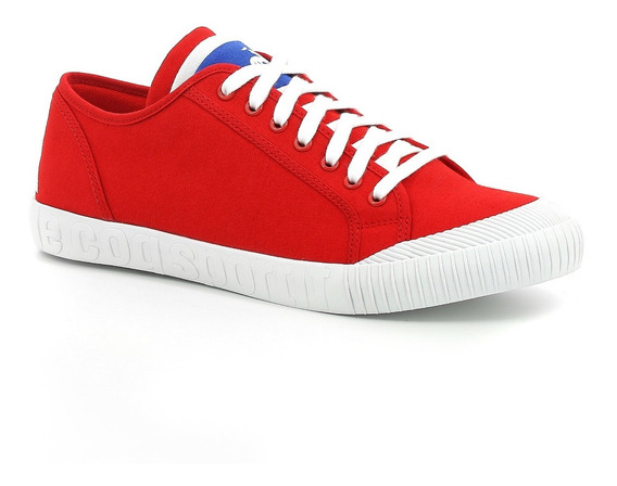 Zapatilla Lona Le Coq Sportif Nationale Sport Pure Red