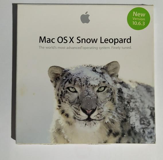 Dvd Mac Os X Snow Leopard 10.6.3 Sistema Operacional
