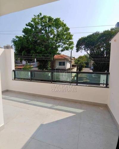 Imagem 1 de 22 de Apartamento À Venda, 80 M² Por R$ 480.000,00 - Jardim - Santo André/sp - Ap8881