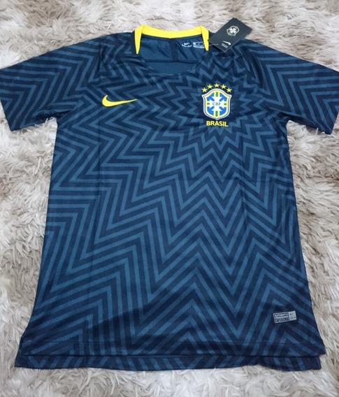 Promoção Camisa Brasil Treino Nike - Seleção Brasileira - P