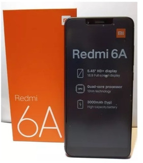 Xiaomi Redmi 6a - 2/16gb, 13mpx, Tela 5.5