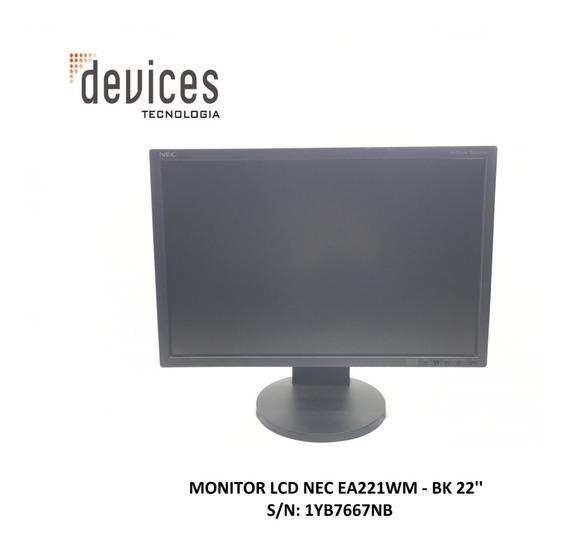 Monitor Lcd Nec Ea221wm-bk - 22