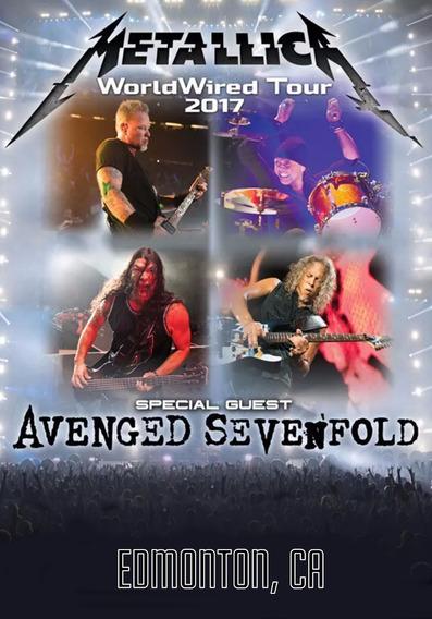 Dvd Metallica - Stadium Edmonton Canada 2017