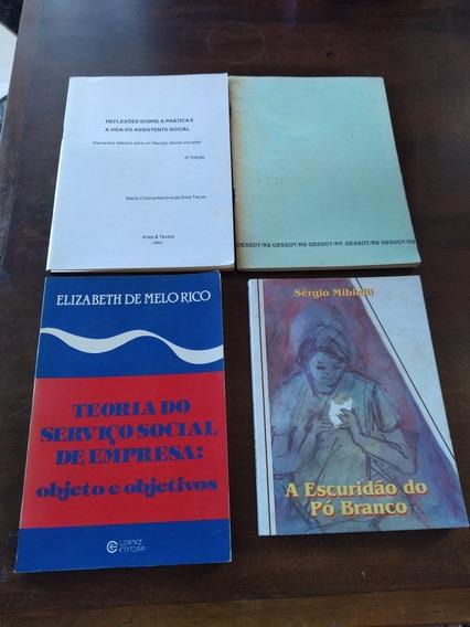 Lote C 17 Livros / Revistas Capacitação Serviço Social