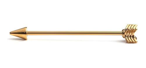 Imagen 1 de 2 de Ruifan - Piercing Para El Cuerpo Con Flecha Industrial, Cali