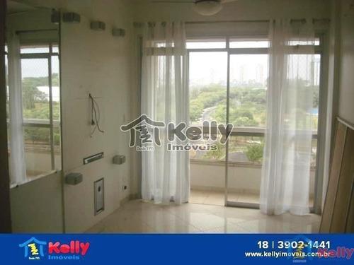 Apartamento Com 3 Dormitórios À Venda - Centro, Presidente Prudente/sp - 1078
