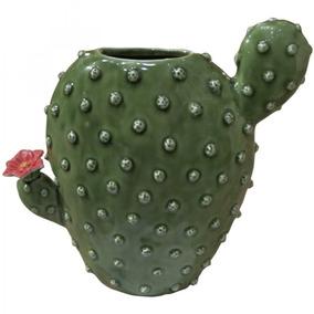 Vaso Decorativo De Cerâmica Bunny Ears Cactus 20cm X Eewt