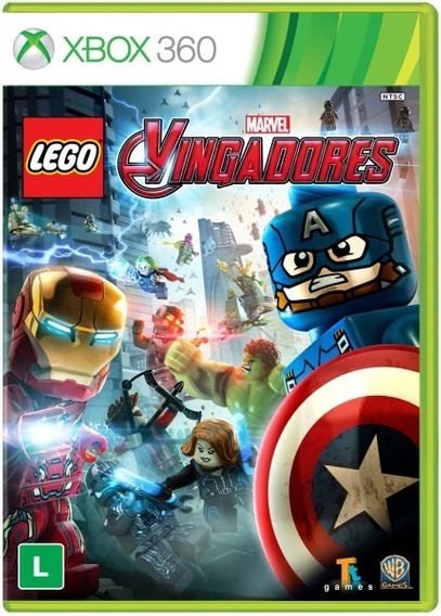Lego Vingadores (mídia Física 100% Pt-br) - Xbox 360