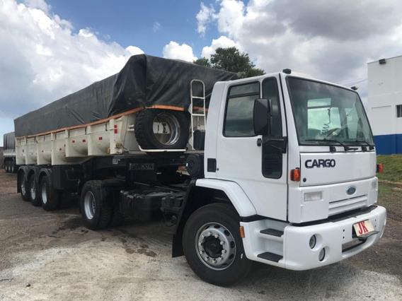Conjunto Ford Cargo 4532 Com Caçamba Randon