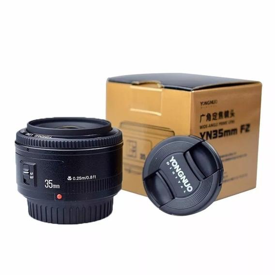 Lente Yongnuo - Yn 35mm F/2 Para Canon