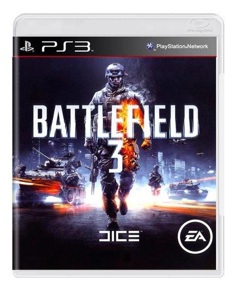 Battlefield 3 Ps3 Mídia Física Pronta Entrega