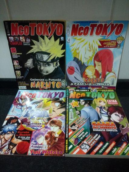Lote 3 Revista Neo Tokyo + Neo Tokyo Encadernado Escala Rjhm