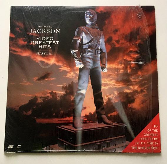 Michael Jackson - History, Video Greatest Hits - Laserdisc
