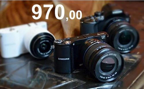 Câmera Samsung Nx210  20mp Full Hd 18-55mm Ois .i Function