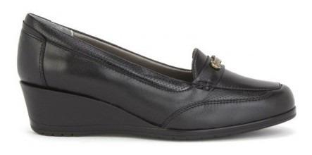 Zapato Onena Mujer Piel Negro 5863