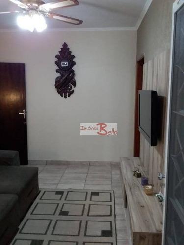 Casa Com 3 Dormitórios À Venda, 188 M² Por R$ 424.000,00 - Jardim Tereza - Itatiba/sp - Ca0375