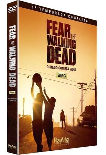 Dvd Box Fear The Walking Dead 1ª Temporada 2 Discos