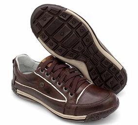 Sapato Casual Bmbrasil Em Couro Legítimo