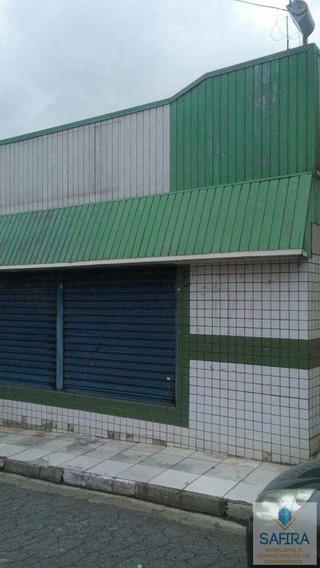 Salão Com 2 Dorms, Jardim São Paulo, Itaquaquecetuba - R$ 190.000,00, 500m² - Codigo: 269 - V269