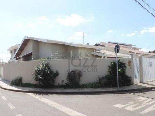 Casa Residencial À Venda, Residencial Terras Do Barão, Campinas. - Ca3333